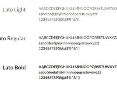 Firmowy font